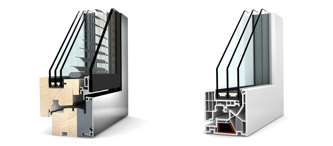 2. Proper window frames